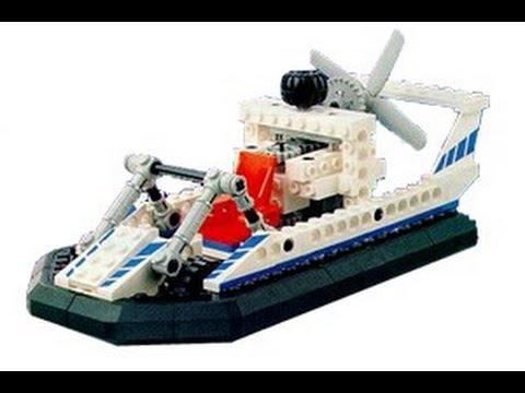 Lego Technic 8824 Hovercraft Instructions Year 1993 Youtube