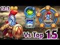 Skull Knight | 30 BT Vs Top-15 Beast😎😎 | 9 Revite | 8 Vigorous Fury | Beast Knight | Castle clash