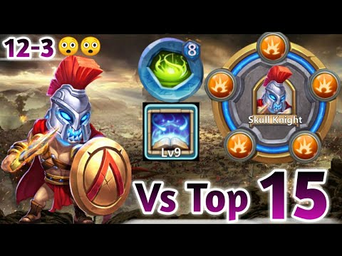 Skull Knight | 30 BT Vs Top-15 Beast😎😎 | 9 Revite | 8 Vigorous Fury | Beast Knight | Castle Clash