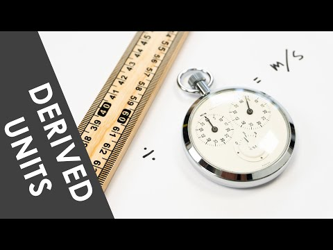 A Level Physics - Derived Units