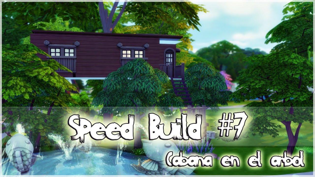 Como hacer una casa del rbol en los sims 4 speed build for Casa de los