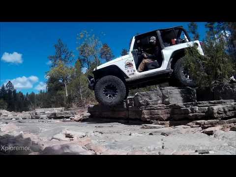 Arizona Rim Four Wheeling Tour