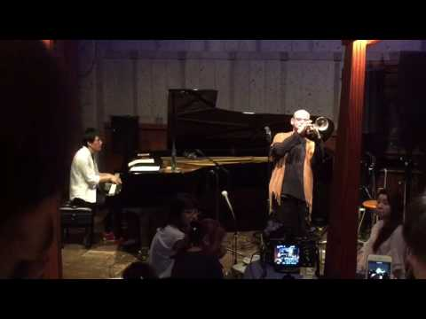 【I'll close my eyes】 trumpet and piano duo