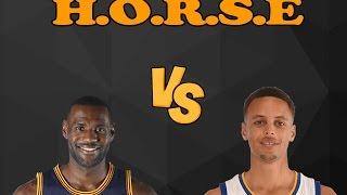 LeBron James vs. Stephen Curry H.O.R.S.E - HORSE GAMEPLAY!