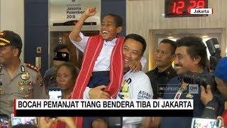 Joni, Bocah Pemanjat Tiang Bendera Tiba di Jakarta