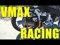 VMAX RACING EXHAUST soundtest, installation and unboxing