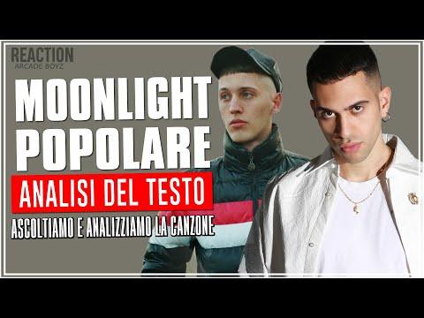 Mahmood - MoonLight Popolare Ft Massimo Pericolo | REACTION | Arcade Boyz