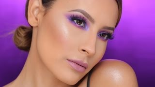 Purple / Pink Smokey Eyes