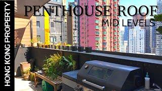 TOP FLOOR PENTHOUSE WITH GARDEN ROOF  | Hong Kong