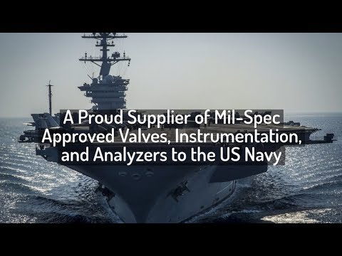 US Navy Supplier of Mil-Spec Valves, Instrumentation, and Analyzers