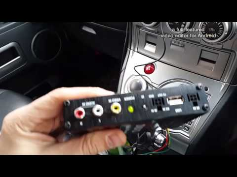 Цифровой DVB-T2 тюнер для автомобиля 2 Антенны с усилителями (Самый мощный) AVS7000DVB