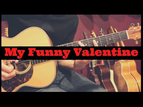 My Funny Valentine Fingerstyle Guitar - Jon MacLennan