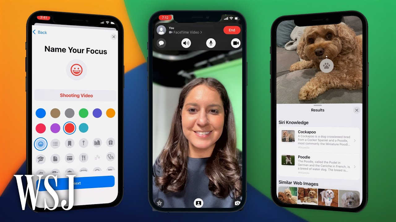 iOS 15 Top 10 Tips for Apples New iPhone Software Update  WSJ