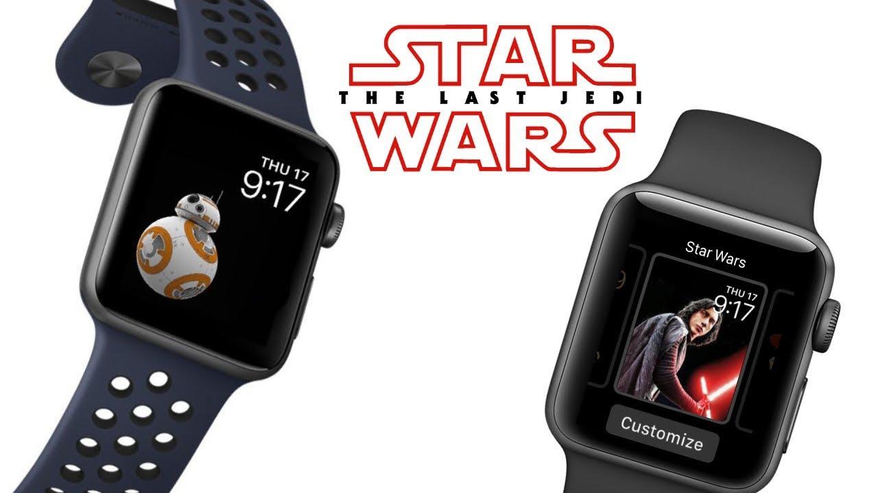 apple watch star wars edition - youtube