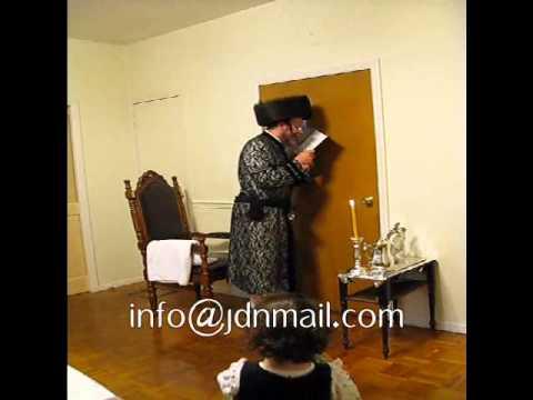 Mosholu Rebbe Chanukah 5771