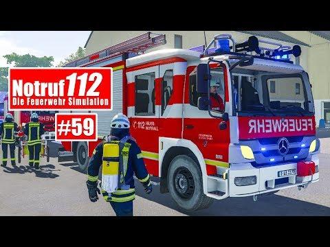 NOTRUF 112 #59: GEBÄUDEBRAND mit der Feuerwehr Düsseldorf! I Feuerwehr-Simulation |