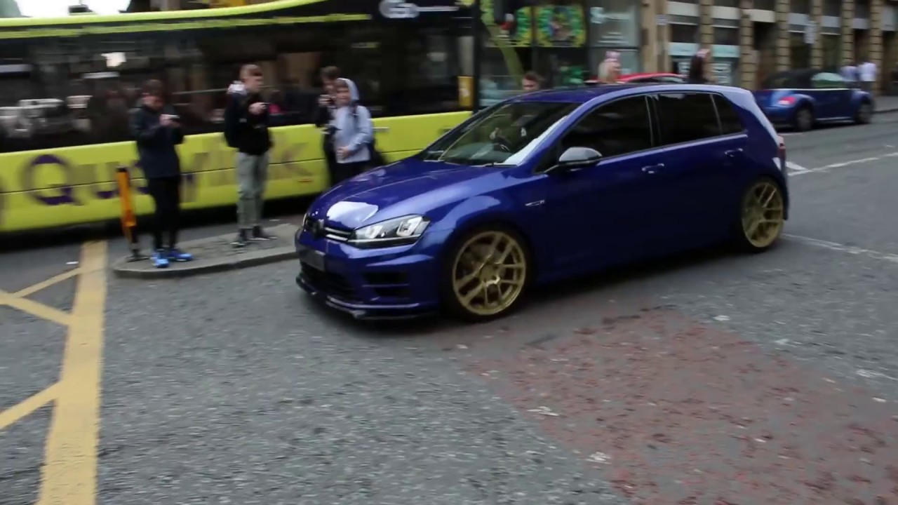 straight pipe vw golf r 500 bhp launch conrol revs and. Black Bedroom Furniture Sets. Home Design Ideas