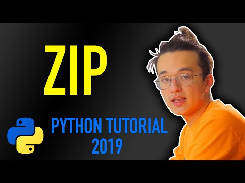 21 - how to use zip functions in python (Python tutorial for beginners 2019) thumbnail