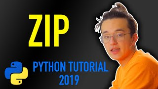 21 - how to use zip functions in python (Python tutorial for beginners 2019)