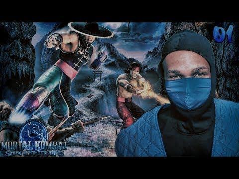 Mortal Kombat Shaolin Monks Story Mode Part 1 - FATALITY
