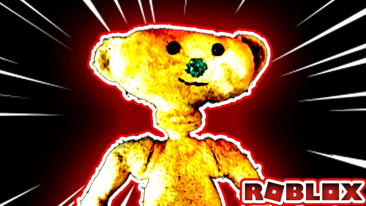 This Scary Bear Will Give You Nightmares Roblox Bear Youtube