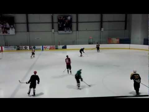 Hockey Warm Up-Pouliot vs Ovechkin