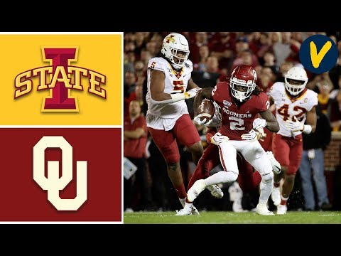 Iowa State vs #9 Oklahoma Highlights | Week 11 | College Foo