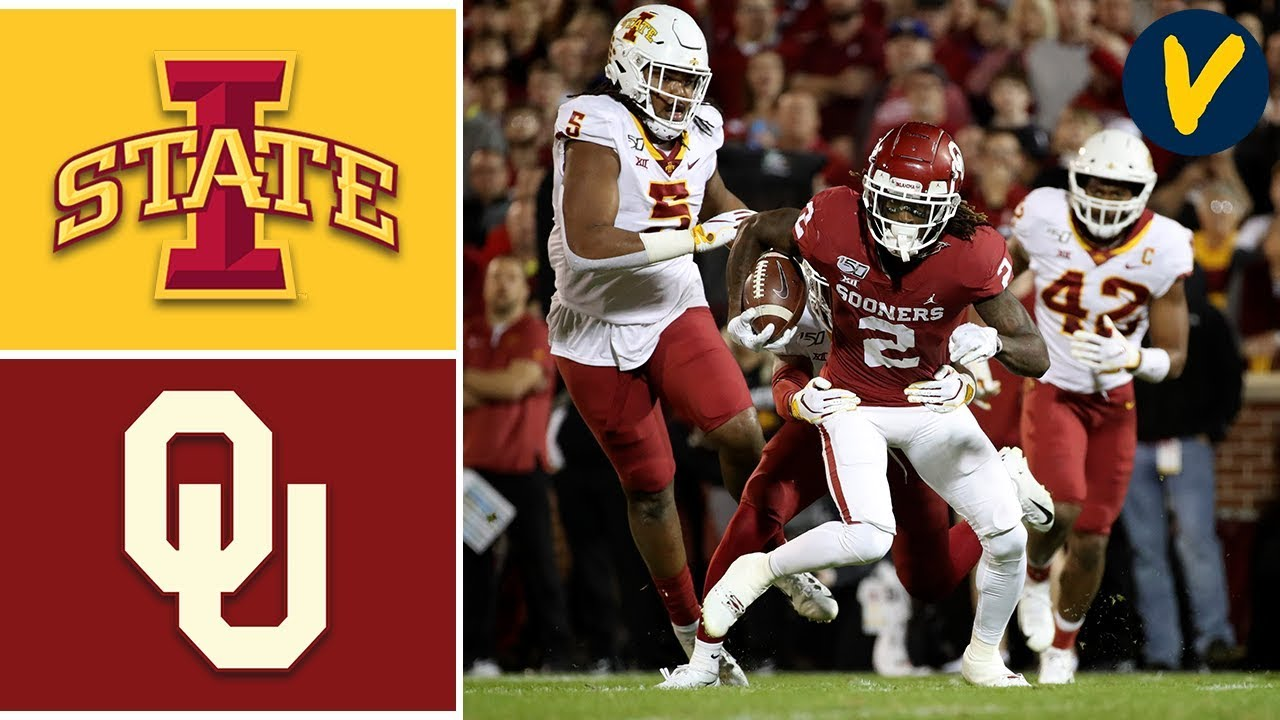 Iowa State vs #9 Oklahoma Highlights | Week 11 | College Football 2019