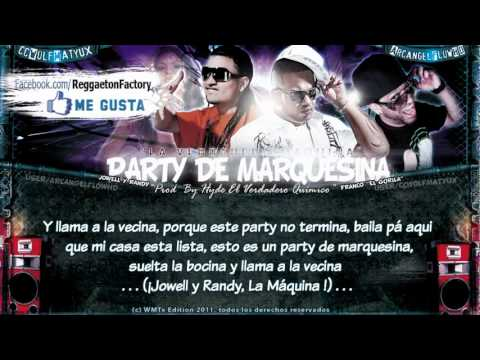 party de marquesina feat.jowell & randy