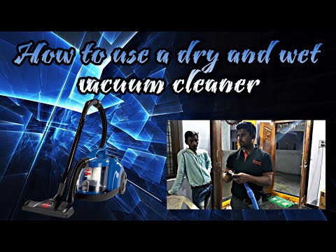 How to use a European vacuum cleaner