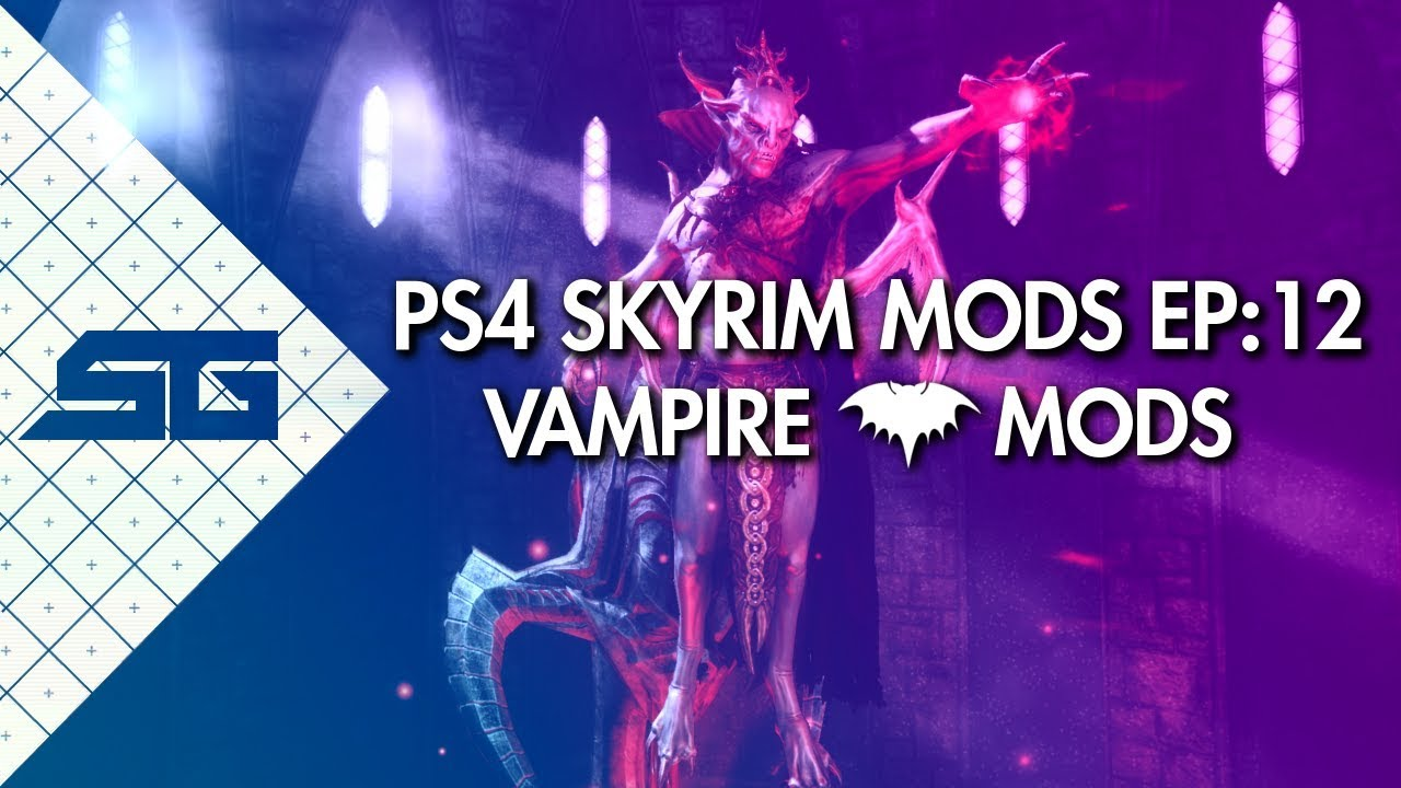 how to become a vampire skyrim ps4