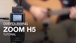 zoom h5 overdubbing