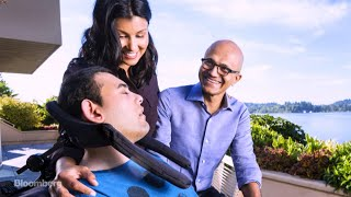 Nadella Says Children's Challenges Taught Him Empathy