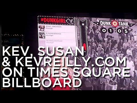 2012-10-03 'Kev, Susan & KevReilly.com On Times Square Billboard'