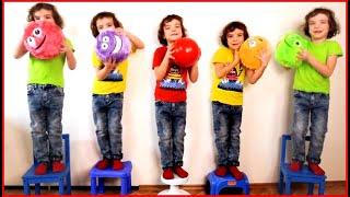 Five little monkeys 🙈 동요와 어린이 노래 | Kids Song #1