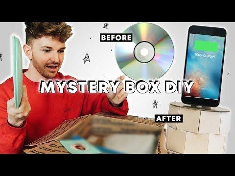 Creating DIY's With an eBay Mystery Box!!! 📦 // Lone Fox