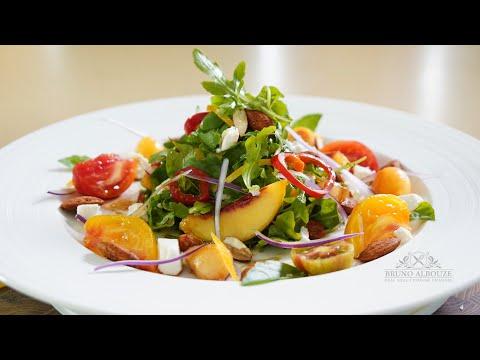 Peach Chili Salad – Bruno Albouze