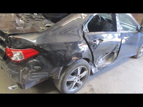 Как восстанавливают битые автомобили видео
