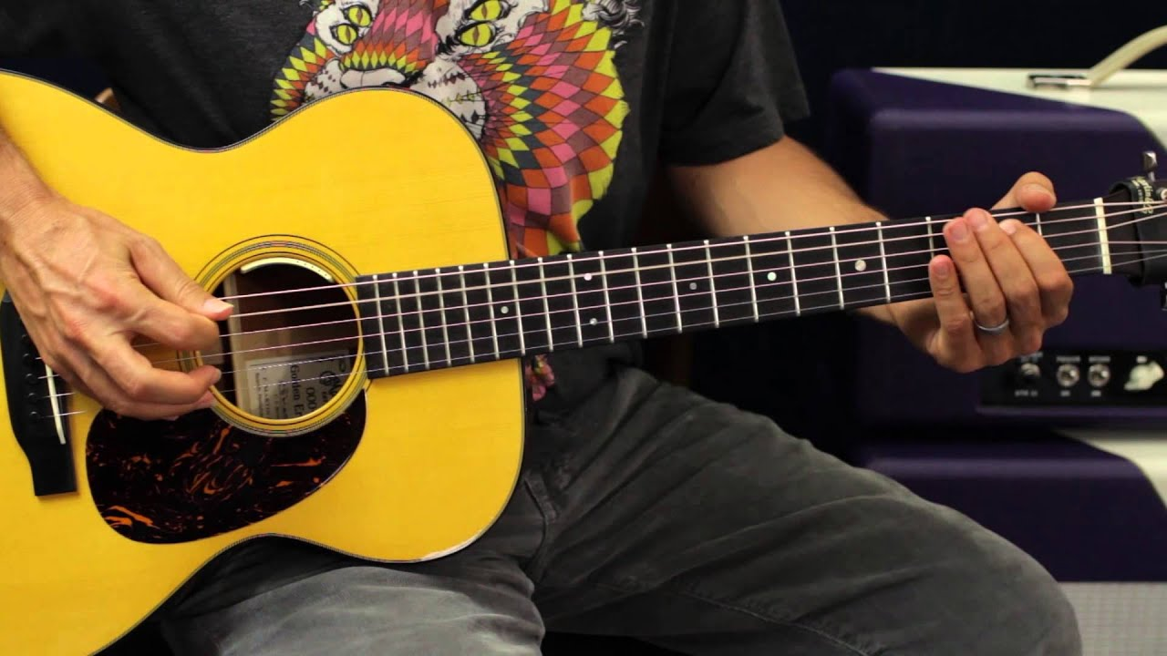 Write a simple guitar song