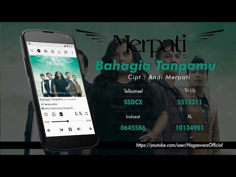 Merpati - Bahagia Tanpamu (Official Audio Video)