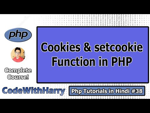 Setting Cookies & $_COOKIE super global in PHP in Hindi | PHP Tutorial #38