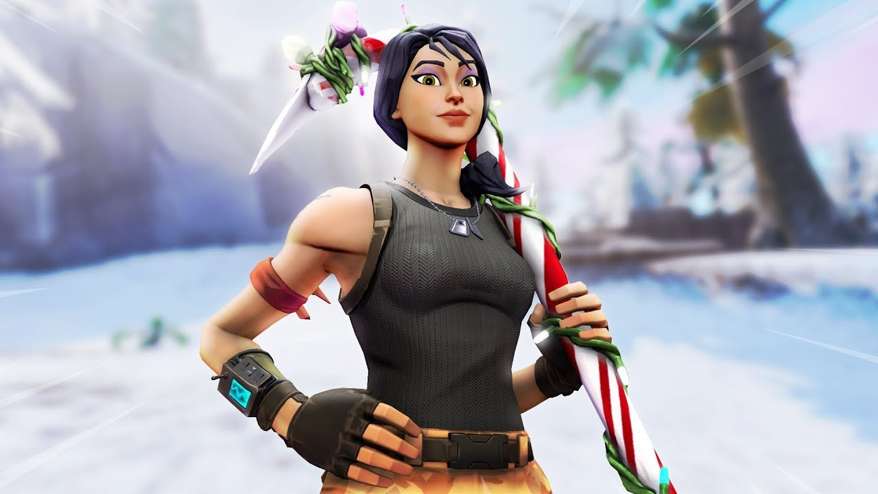 This Og Christmas Skin Turned Me Into A God | 22 kill solo - YouTube