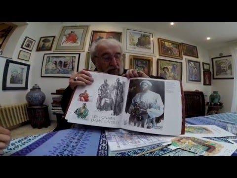 Interview Charles Kerivel peintre Maroc