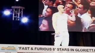 Video SOLAR DAYBREAK: 'Fast & Furious 6' Stars in Glorietta download MP3, 3GP, MP4, WEBM, AVI, FLV September 2017
