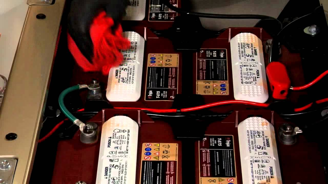 Yamaha Golf Car Service Tips Battery Maintenance Youtube Cart 48v Wiring Diagram