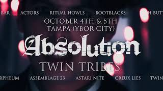 Absolution Fest Promo vid 1 - ACTORS, Panic Priest, Twin Tribes, Ritual Howls