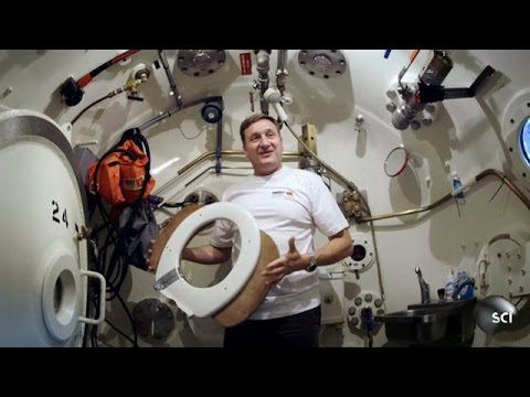 Saturation Divers Live Under the Sea for Weeks | World's Strangest