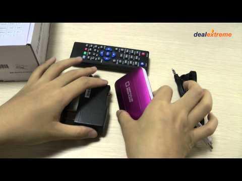 Mini 1080P Full HD Media Center Player-DX