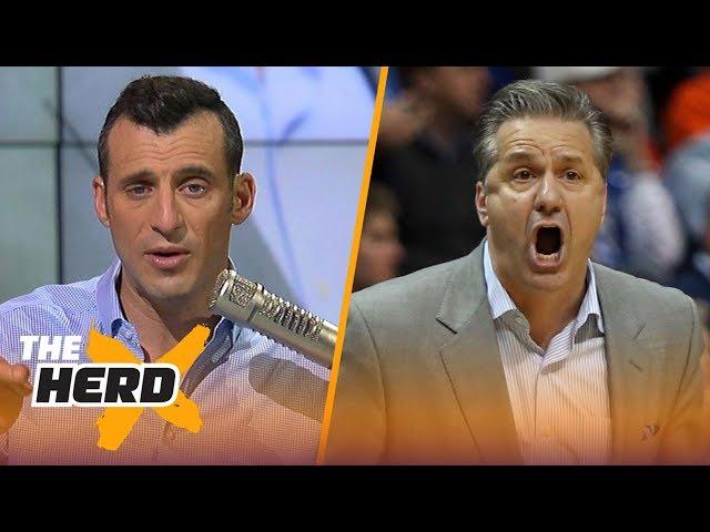 Doug Gottlieb reacts to Kansas State upsetting Caliparis Kentucky Wildcats | THE HERD
