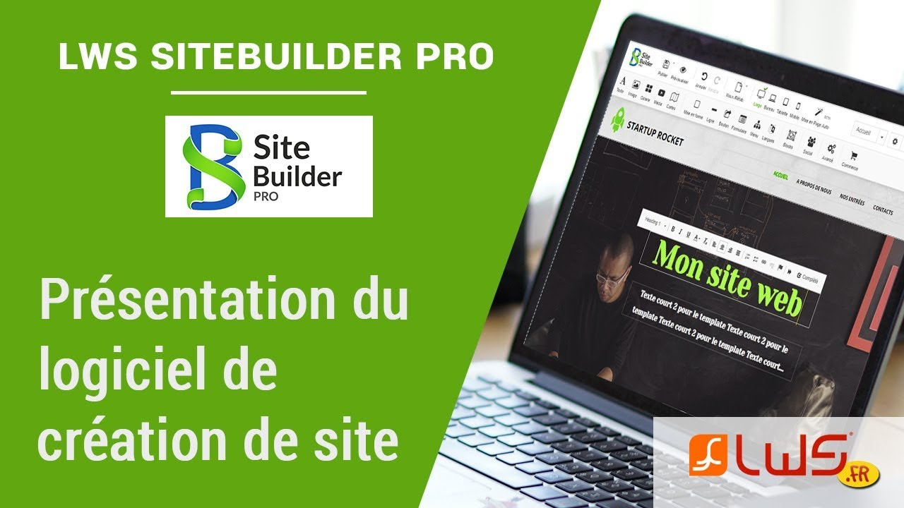 SiteBuilder Pro : Créez votre site Web moderne en un instant et sans effort !